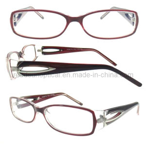 Optical Frame with Plastic Hinge, New Fashion Optical Frame (OCP310076) pictures & photos