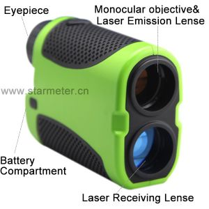 900m Long Range Distance Measuring Binoculars with Laser Range Finder