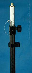 Telescopic Carbon Fiber Pole for GPS Rtk