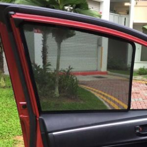 Magnet Car Sunshade with Clip Parts pictures & photos