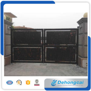 Anti-Climb Wrought Iron Gate/Metal Gate/Stainless Steel Gate pictures & photos