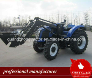 Tractor 1004 with Front End Loader Tz-12D with 4-in-1 Bucket, Forklift pictures & photos