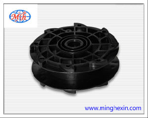 Black Plastic Round Reel with ISO SGS