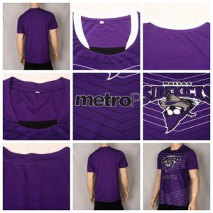 Healong UV-Protection Dye Sublimated Soccer Shirt with High Quality pictures & photos