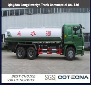 Sinotruk HOWO 6X4 18m3 Water Tanker Truck pictures & photos