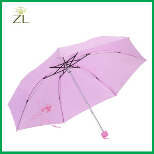 Polyester Material Promotional Advertising Windproof Umbrella pictures & photos