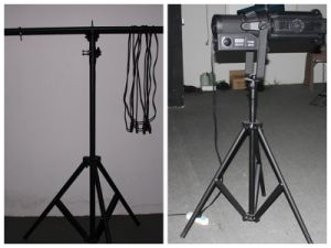 Movable Aluminum Iron Stage Stand, Extended Studio Stand pictures & photos