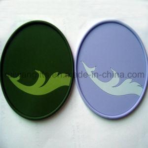 Custom Soft PVC Glass Coaster pictures & photos