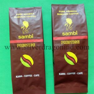 Aluminium Coffee Bag with One-Way Valve for 250g Beans pictures & photos