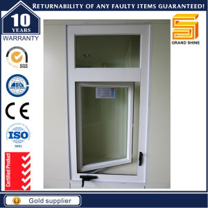 Aluminum Frame Double Glazed Tempered Glass Casement Window pictures & photos
