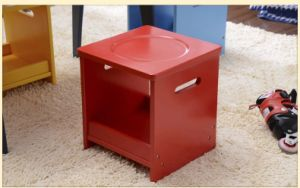 European Style Kids Wooden Stool with Many Color (M-X1076) pictures & photos