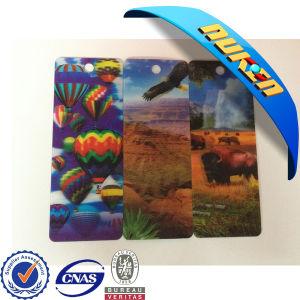 Fancy 3D Flip PP Plastic Bookmarks pictures & photos