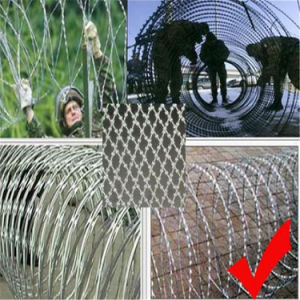 Military Fence (High Security, barbed wire material) pictures & photos