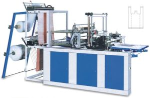 Heat Sealing and Cold Cutting Plastic Bag Making Machine