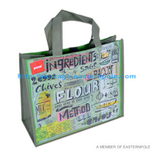 Gloss Lamination Promotional Non Woven Shopping Bag