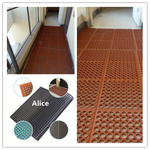 Drainage Rubber Mat/Hotel Rubber Mats/Bathroom Rubber Mat pictures & photos