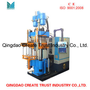 Hot Sale Rubber Injection Machine with Simens Op7 System pictures & photos