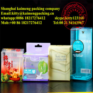 China Factory Supply Foldable Clear PP Plastic Gift Box Wholesale