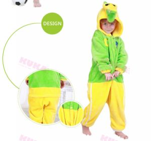 Kuka Cartoon Crocodile Manga Onesies Cosplay Costume Kids Pajama
