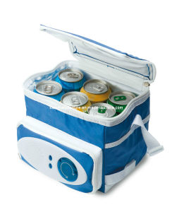 6 Cans Cooler Bag with Radio (KM1222) pictures & photos