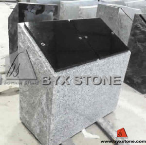 Double Niches Grey Granite Columbaria Small Columbarium pictures & photos