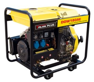Portable 50 - 210 a AC Arc Diesel Silent Generator Welder (Tgw7500S) pictures & photos