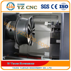 Car Rim Scratch Repair CNC Alloy Wheel Lathe with Touch Probe pictures & photos
