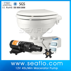 Macerator Pump 12V 12gph 45lpm Sump Pump for Camper Mobile Toilet pictures & photos