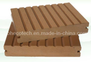 140x25mm WPC Composite Decking/Flooring Grooved WPC Terrace Flooring (140S25-B) pictures & photos