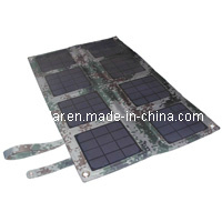 24W Monocrystalline Silicon Pet Laminated Panel Solar Charger Bag with PVC Waterproof