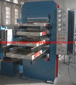High Technology Rubber Tile Press/Rubber Tile Moulding Press/Rubber Vulcanizing Press pictures & photos