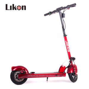 New Hot Sales Portable 10 Inches Tires Electric Scooter, Fast Folding E-Scooter, 48V 350W, 3gears to Adjust The Speed, Your Better Choice for City Shuttling.