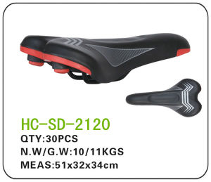 Leather MTB Saddle, Hot Selling Black Saddle (SD-2120) pictures & photos