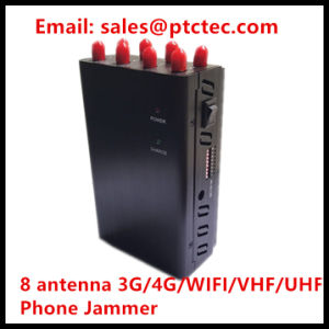 Powerful 8 Bands Handheld Portable Signal Jammer pictures & photos