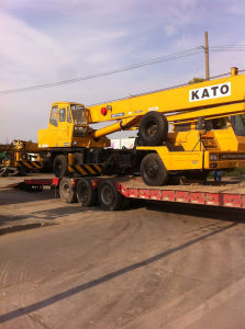 Used Kato 25t Truck Crane Sold to Senegal pictures & photos