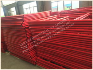 Standard Powder Coated Frame Scaffolding Mason Scaffolding Frame pictures & photos