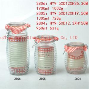 950ml~1900ml Glass Seal Jar Food Glass Jar pictures & photos