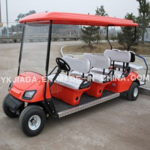 Cheap Price 8 Seat Electric Sightseeing Golf Car (JD-GE503B) pictures & photos