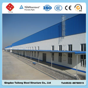 Prefabricated Galvanized Steel Structure Warehouse pictures & photos