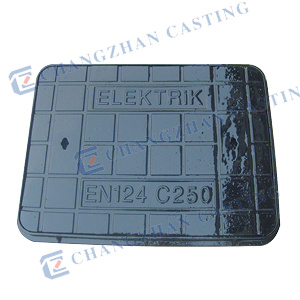 En124 Duble Seal Ductile Iron Manhole Covers Use for Highway D400 pictures & photos