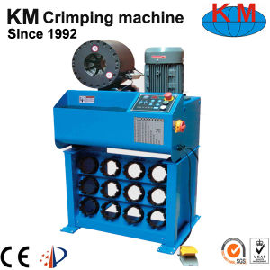 Hot Sale Hose Crimping Machine Km-91h in Argentina Market pictures & photos
