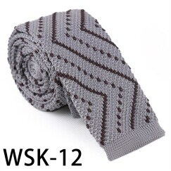 Men′s Fashionable 100% Polyester Knitted Tie (WSK-12) pictures & photos