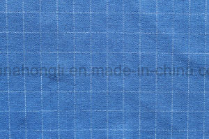 Plaid, Cationic, Twill T/R/N/C Fabric, 34%Polyester 17%Rayon 43%Nylon 2%Cotton 4%Spandex, 320GSM pictures & photos