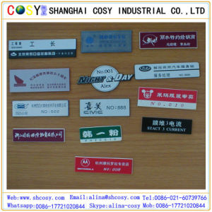 CNC Engraving ABS Double Color Board with High Adhesive pictures & photos