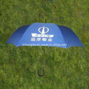"27""X8k Fiberglass Ribs Advertising Promotion Golf Umbrella with Logo (YSS0150) pictures & photos"