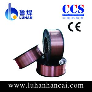 Copper Coated CO2 Welding Wire Er70s-6 Drum Packing with Best Price and High Quality pictures & photos