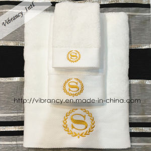 Professional Luxury Embroidery Hotel Towel Bath Towel Wholesale pictures & photos