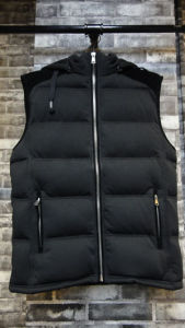 Garment OEM Sprots Wear Fashion Winter Sleeveless Vest Jacket Hoodie pictures & photos