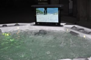 Acrylic Massage SPA with Waterproof TV (JCS-19) pictures & photos