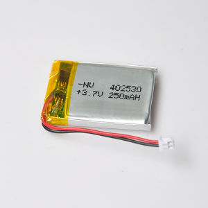 Li-ion Battery Pack 3.7V 402530 250mAh Polymer for Pm3